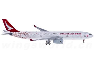 Phoenix 1:400 Cathay Dragon 国泰港龙航空 Airbus A330-300 B-HYB 回归20周年彩绘