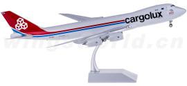 Cargolux 卢森堡货运航空 Boeing 747-8F LX-VCJ 郑州号 货机