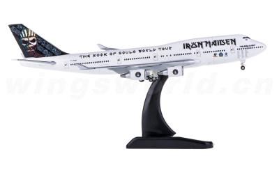 Hogan 1:400 Iron Maiden Boeing 747-400 TF-AAK ED Force One