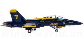 U.S. Navy 美国海军 Boeing F/A-18A 大黄蜂 蓝天使特技飞行队 7号机