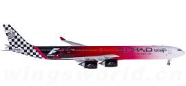Etihad 阿提哈德航空 Airbus A340-600 A6-EHJ F1彩绘