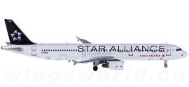 Air Canada 加拿大航空 Airbus A321 C-GITU 星空联盟