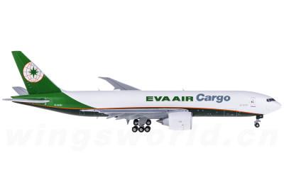 EVA Air 长荣航空 Boeing 777-200 B-16781 货机 襟翼打开