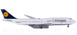 Lufthansa 汉莎航空 Boeing 747-8 D-ABYM 5 Starhansa