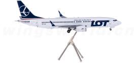 LOT 波兰航空 Boeing 737 MAX 8 SP-LVA
