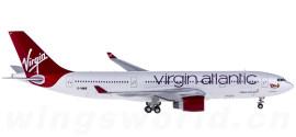 Virgin Atlantic 维珍航空 Airbus A330-200 G-VMIK