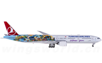 Phoenix 1:400 Turkish Airlines 土耳其航空 Boeing 777-300ER TC-JJU 旧金山彩绘