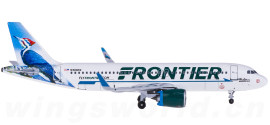 Frontier Airlines 边疆航空 Airbus A320 N309FR 啄木鸟