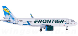 Frontier Airlines 边疆航空 Airbus A320 N310FR 蜥蜴