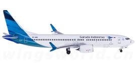 Garuda Indonesia 印度尼西亚鹰航 Boeing 737 MAX 8 PK-GDB