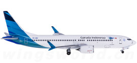 Garuda Indonesia 印度尼西亚鹰航 Boeing 737 MAX 8 PK-GDC