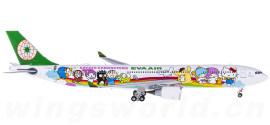 EVA Air 长荣航空 Airbus A330-300 B-16332 梦想机