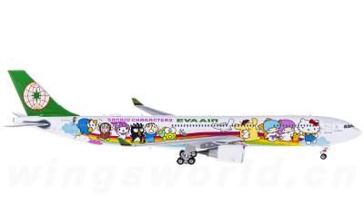 Phoenix 1:400 EVA Air 长荣航空 Airbus A330-300 B-16332 梦想机
