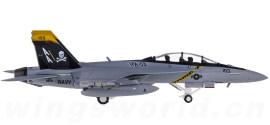 U.S. Navy 美国海军 F-18F 超级大黄蜂 VFA-103 Jolly Rogers AA 103