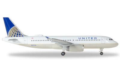 United Airlines 美国联合航空 Airbus A320 N491UA