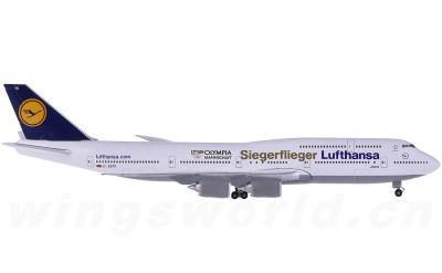 Lufthansa 汉莎航空 Boeing 747-8 D-ABYK 里约奥运彩绘