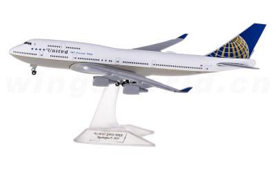 United Airlines 美国联合航空 Boeing 747-400 N118UA