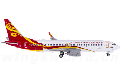 JC Wings 1:400 Hainan Airlines 海南航空 Boeing 737 MAX 8 B-1390