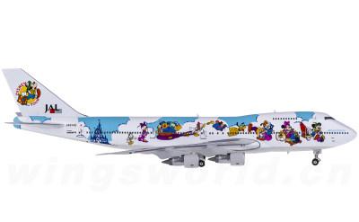 Phoenix 1:400 Japan Airlines 日本航空 Boeing 747-100 JA8142 迪斯尼彩绘