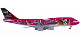 Japan Airlines 日本航空 Boeing 747-400 JA8904 迪斯尼彩绘