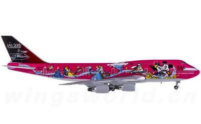Phoenix 1:400 Japan Airlines 日本航空 Boeing 747-400 JA8904 迪斯尼彩绘