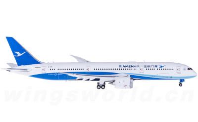 JC Wings 1:400 XiamenAir 厦门航空 Boeing 787-9 B-1567 襟翼打开
