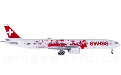 JC Wings 1:400 Swiss 瑞士国际航空 Boeing 777-300ER HB-JNA