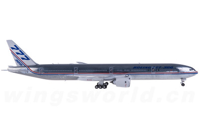 Phoenix 1:400 Boeing 777-300 N5014K 原厂涂装
