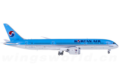JC Wings 1:400 Korean Air 大韩航空 Boeing 787-9 HL8081