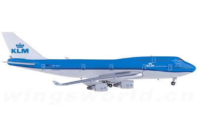 KLM 荷兰皇家航空 Boeing 747-400 PH-BFT 星雅 武雯