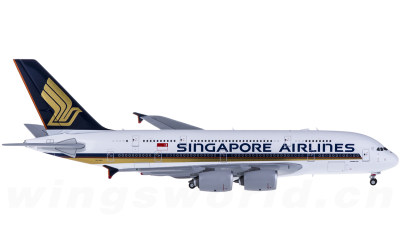 JC Wings 1:400 Singapore Airlines 新加坡航空 Airbus A380 9V-SKA