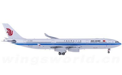 Air China 中国国际航空 Airbus A340-300 B-2389 带国旗