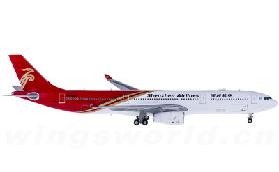 JC Wings 1:400 Shenzhen Airlines 深圳航空 Airbus A330-300 B-8865