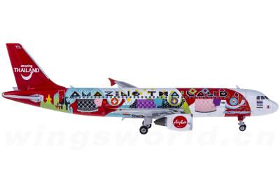 AirAsia 亚洲航空 Airbus A320 HS-ABD Amazing Thailand