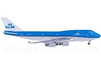 Phoenix 1:400 KLM 荷兰皇家航空 Boeing 747-400 PH-BFW