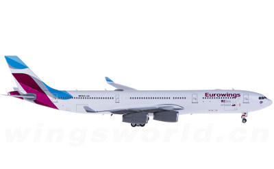 Eurowings 欧洲之翼航空 Airbus A340-300 OO-SCW