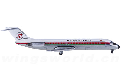 Kenya Airways 肯尼亚航空 McDonnell Douglas DC-9-30 5Y-BBR