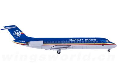 Midwest Airlines 中西部航空 McDonnell Douglas DC-9-30 N206ME