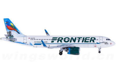 Frontier Airlines 边疆航空 Airbus A320neo N317FR 丽彩鹀