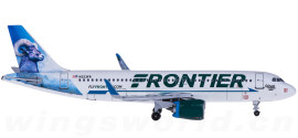 Frontier Airlines 边疆航空 Airbus A320neo N323FR 大角羊