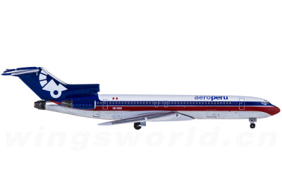 AeroPeru 秘鲁航空 Boeing 727-200 OB-1590