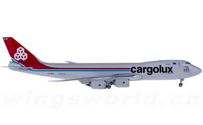 Phoenix 1:400 Cargolux 卢森堡货运航空 Boeing 747-8F LX-VCJ 货机