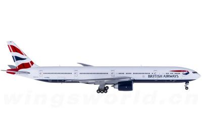 Geminijets 1:400 British Airways 英国航空 Boeing 777-300ER G-STBG