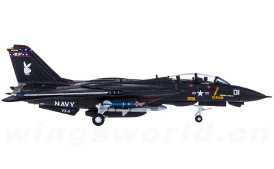 Hogan 1:200 U.S. Navy 美国海军 Grumman F-14A 雄猫 VF-84 VX-101