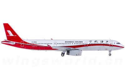 Shanghai Airlines 上海航空 Airbus A321 B-6591