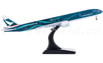JC Wings 1:400 Cathay Pacific 国泰航空 Boeing 777-300ER B-KPF 亚洲国际都会