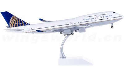 United Airlines 美国联合航空 Boeing 747-400 N121UA