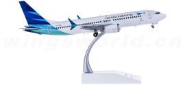 Garuda Indonesia 印度尼西亚鹰航 Boeing 737 MAX 8 PK-GDA