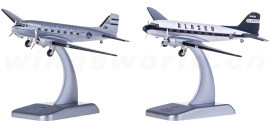 Alaska Airlines 阿拉斯加航空 Douglas DC-3 2架套装