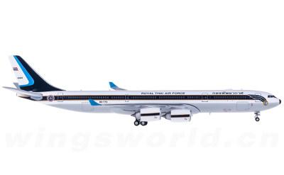 JC Wings 1:400 RTAF 泰国皇家空军 Airbus A340-500 HS-TYV 泰国政府专机